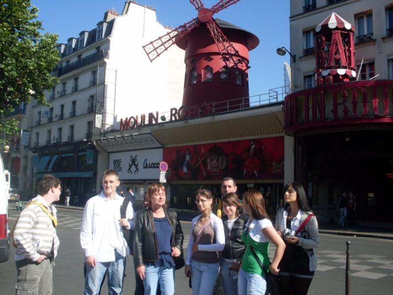 006. Visite de Paris par les jeunes polonais