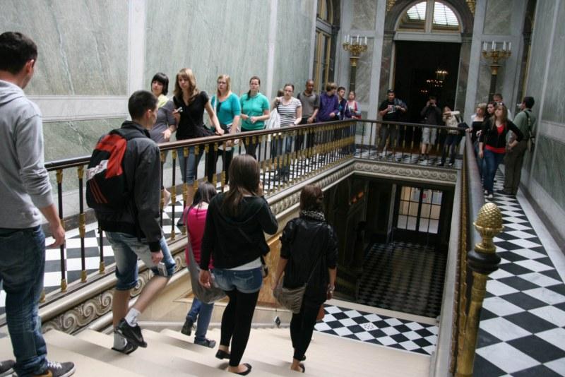 22. Hat wirklich Ludwig der XIV. diese Treppe benutzt