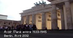 Avoir 17ans entre 1933-1945 Berlin 2012